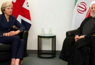 نخست وزیر انگلیس در دیدار با روحانی، تعهد این کشور به برجام را تکرار کرد