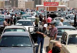 افزایش ۱ تا ۳ میلیون تومانی قیمتها در بازار خودرو در 7 مهر 97