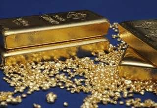 قیمت طلا تحت تاثیر سیاست های نرخ بهره آمریکا کاهش یافت