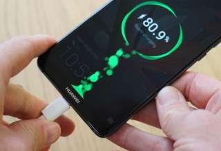 شارژ فوق سریع 40 واتی Huawei mate 20 pro