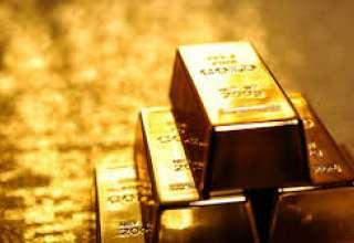 قیمت طلا همزمان با افزایش ارزش دلار کاهش یافت