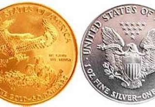 فروش سکه طلا و نقره در آمریکا به پایین ترین سطح در 11 سال اخیر رسید