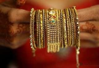 هند ۷۶۲تن طلا وارد کرد