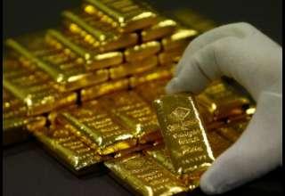 قیمت جهانی طلا به پایینترین میزان در سه هفته اخیر نزدیک شد