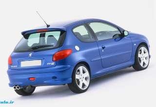قیمت خودرو امروز ۱۳۹۷۱۱۰۹|پژو 206 تیپ دو   62 میلیون