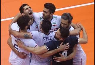 والیبال انتخابی المپیک|برتری دشوار ایران مقابل کوبا در ماراتنی نفسگیر
