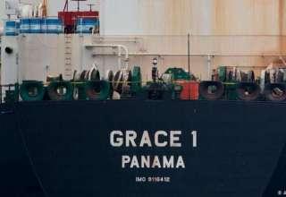نفتکش ایرانی همچنان در جبلالطارق است