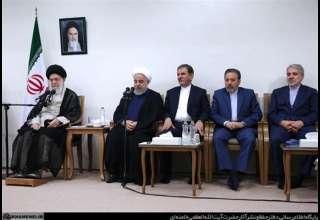 امام خامنهای در دیدار هیئت دولت: مسئولان به تولید داخلی توجه کنند