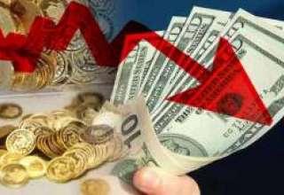 تداوم افت قیمت سکه و ارز با بهبود شرایط منطقهای