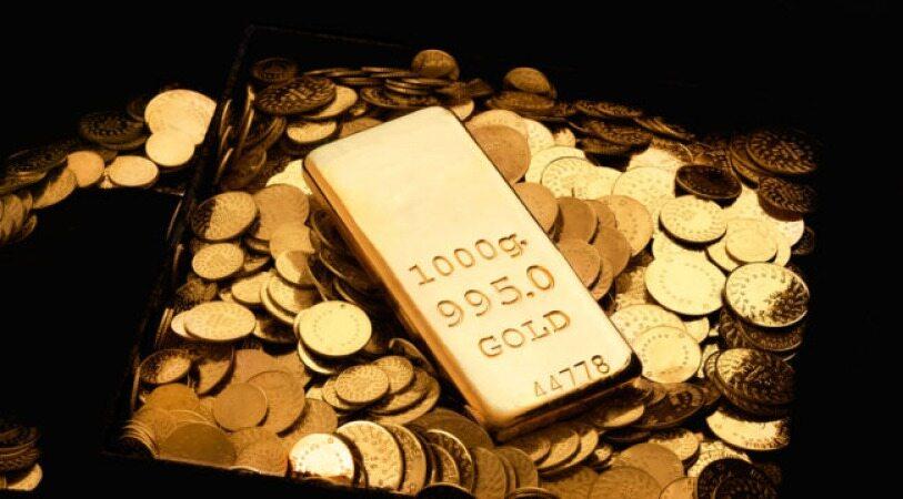 افت شدید سهام قیمت طلا را به بالاترین سطح در 2 ماه اخیر رساند
