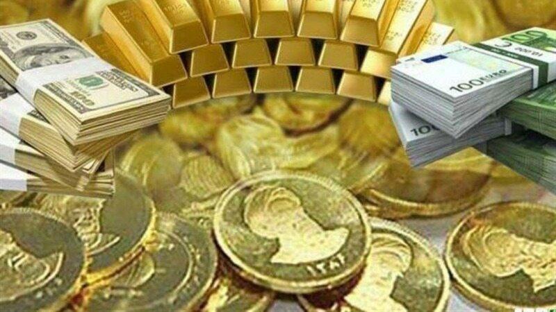 افت طلا و سکه
