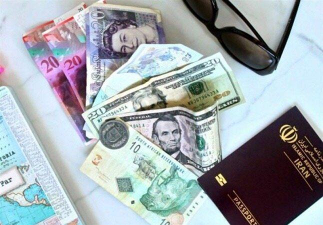 قیمت ارز مسافرتی امروز ۹۷/۱۰/۲۲  یورو ۱۲۹۸۹ تومان شد