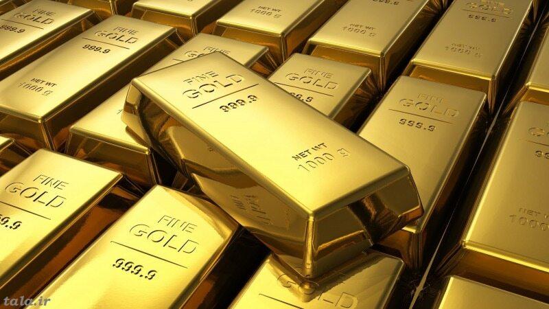 ادامه کاهش قیمت طلا در بازار جهانی