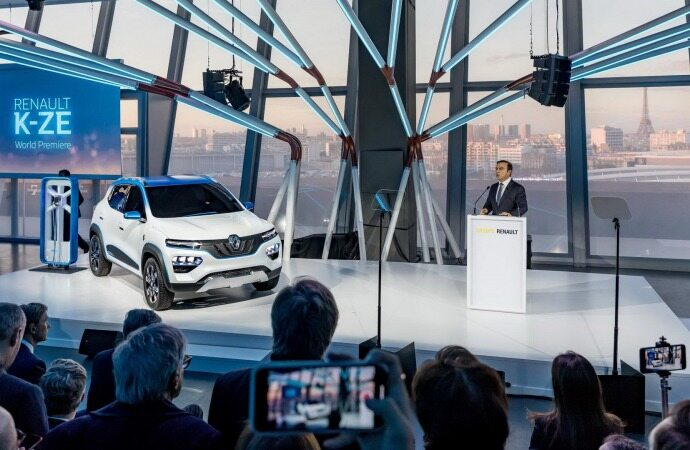 خودروی الکتریکی جدید رنو (+عکس)