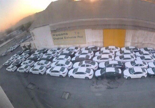 ترخیص ۱۶۰۰ دستگاه خودروی در گمرک مانده