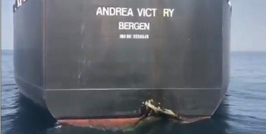 یک نفتکش نروژی در انفجارهای بندر فجیره آسیب دید