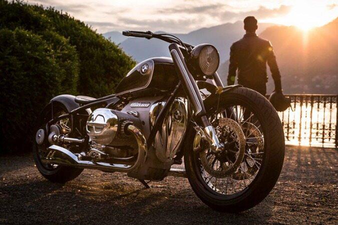 موتورسیکلت مفهومی بی ام و R18 رونمایی شد