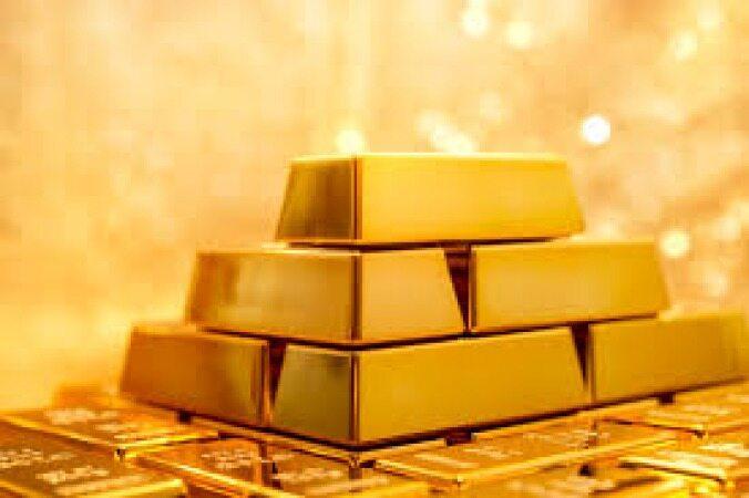 کاهش قیمت طلا در پی گرانی دلار
