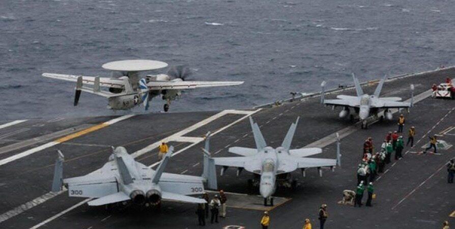 هشدار نافرجام «ناو لینکلن» به ایران /آسیب به ۴ جنگنده اف۱۸
