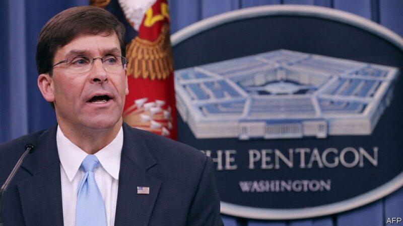 ادعاهای وزیر دفاع آمریکا علیه ایران