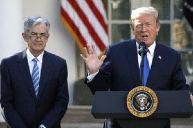 جدال لفظی ترامپ با رئیس بانک مرکزی آمریکا